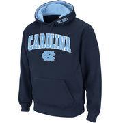 Men's Stadium Athletic Navy North Carolina Tar Heels Arch & Logo Pullover Hoodie