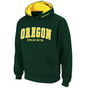 Men's Stadium Athletic Green Oregon Ducks Arch & Logo Pullover Hoodie