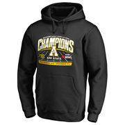 Men's Fanatics Branded Black Appalachian State Mountaineers 2016 Camellia Bowl Champions Halfback Pullover Hoodie