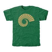 Men's Green Colorado State Rams Auxiliary Logo Tri-Blend T-Shirt