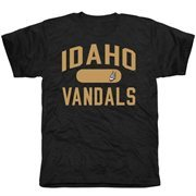 Mens Idaho Vandals Black Athletic Issued Tri-Blend T-Shirt
