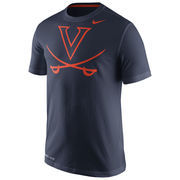 Men's Nike Navy Virginia Cavaliers Performance Travel T-Shirt