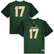 Youth Nike #17 Green Baylor Bears Replica Football Jersey