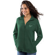 Women's Columbia Green South Florida Bulls Give & Go Full-Zip Jacket