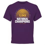 Men's Purple LSU Tigers 2015 NCAA Men's Golf National Champions T-Shirt