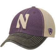 Men's Top of the World Purple/Tan Northwestern Wildcats Offroad Trucker Hat