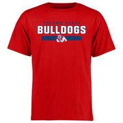Men's Red Fresno State Bulldogs Team Strong T-Shirt