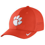 Men's Nike Orange Clemson Tigers Sideline Vapor Coaches Performance Flex Hat