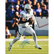 Robert Griffin III Baylor Bears Autographed 16'' x 20'' White Uniform Run with Ball Photograph