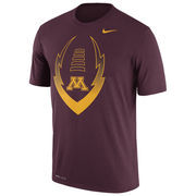 Men's Nike Maroon Minnesota Golden Gophers Legend Icon Dri-FIT Performance T-Shirt