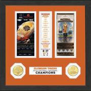 Highland Mint Clemson Tigers College Football Playoff 2016 National Champions Ticket Collection