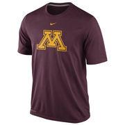 Nike Minnesota Golden Gophers Logo Legend Dri-FIT Performance T-Shirt - Maroon