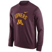 Men's Nike Maroon Minnesota Golden Gophers Circuit Sweatshirt