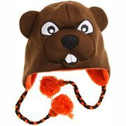 Oregon State Beavers Mascot Knit Beanie