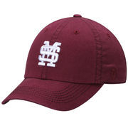 Men's Top of the World Maroon Mississippi State Bulldogs Solid Crew Adjustable Hat