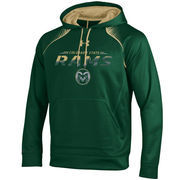 Men's Under Armour Green Colorado State Rams Tech Pullover Hoodie