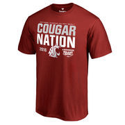 Men's Fanatics Branded Crimson Washington State Cougars 2016 Holiday Bowl Bound Nation T-Shirt