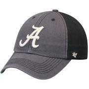 Men's '47 Gray/Black Alabama Crimson Tide Humboldt Franchise Fitted Hat