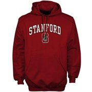 Mens Cardinal Stanford Cardinal Arch Over Logo Hoodie