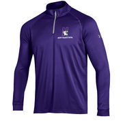 Men's Under Armour Purple Northwestern Wildcats 1/4 Zip Performance Top