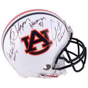 Pat Sullivan, Cam Newton, Bo Jackson Auburn Tigers Autographed Pro-Line Helmet with Heisman Inscriptions