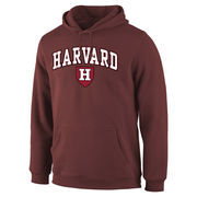 Men's Fanatics Branded Crimson Harvard Crimson Campus Pullover Hoodie