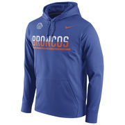 Men's Nike Royal Boise State Broncos Circuit Pullover Performance Hoodie