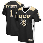 Women's Colosseum #1 Black UCF Knights Football Jersey