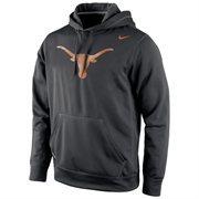 Texas Longhorns Nike Warp Logo Therma-FIT Hoodie - Black