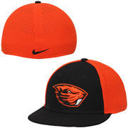Men's Nike Black/Orange Oregon State Beavers Players True Vapor Swoosh Dri-FIT Performance Hat