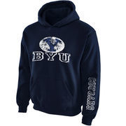 Youth New Agenda Navy BYU Cougars Hollow Straight Prep Hoodie