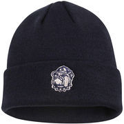 Men's Georgetown Hoyas Top of the World Navy Blue Simple Knit Hat with Cuff