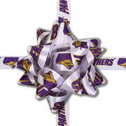 Northern Iowa Panthers Gift Wrap Bow Set