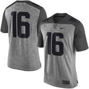 Men's Nike Heather Gray Tennessee Volunteers Gridiron Gray Limited Football Jersey