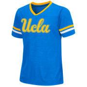 Girls Youth Colosseum Light Blue UCLA Bruins Titanium T-Shirt