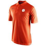 Mens Clemson Tigers Nike Orange Sideline Staff Performance Polo