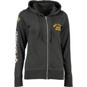 Women's Charcoal Wake Forest Demon Deacons Sunset Full-Zip Jersey Hoodie