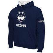 Men's Stadium Athletic Navy UConn Huskies Big Logo Pullover Hoodie