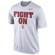 Men's Nike White USC Trojans Legend Authentic Local Performance T-Shirt