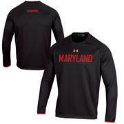 Maryland Terrapins Under Armour Ultimate Tech Fleece - Black