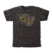Wake Forest Demon Deacons Classic Primary Tri-Blend T-Shirt - Black