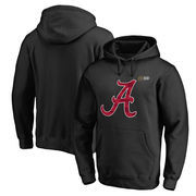 Men's Fanatics Branded Black Alabama Crimson Tide 2016 College Football Playoff Bound Vital Pullover Hoodie