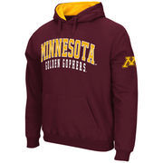 Men's Stadium Athletic Maroon Minnesota Golden Gophers Double Arches Pullover Hoodie