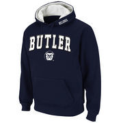 Men's Stadium Athletic Navy Butler Bulldogs Arch & Logo Pullover Hoodie