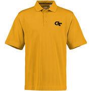 Cutter & Buck Georgia Tech Yellow Jackets Gold DryTec Championship Performance Polo