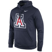 Men's Nike Navy Arizona Wildcats Practice Performance Hoodie