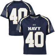 Men's Under Armour No. 40 Navy Blue Navy Midshipmen Replica Lacrosse Jersey