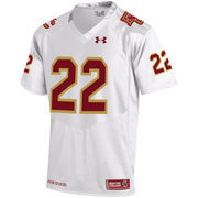 Men's Under Armour #1 White Boston College Eagles Replica Fenway Event Replica Performance Jersey