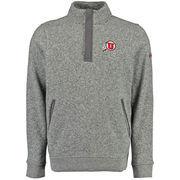 Men's Under Armour Gray Utah Utes Elevate Sweater