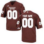Mississippi State Bulldogs Custom Replica Football Jersey - Maroon